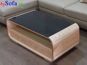 bàn sofa gỗ đẹp, bàn sofa mặt kính