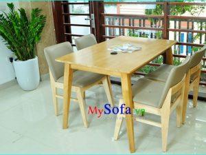Bộ bàn ăn 4 ghế đẹp cao cấp