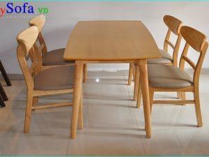 Bộ bàn ghế ăn nhỏ đẹp hiện đại