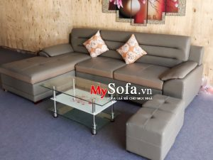 sofa da đẹp sang trọng