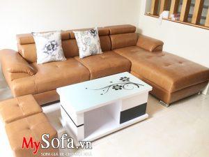 ban ghế sofa góc đẹp tại bắc ninh