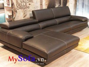 ghế sofa da hiện đại sang trọng