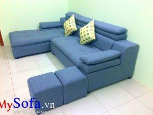 sofa nỉ đẹp kê phòng khách