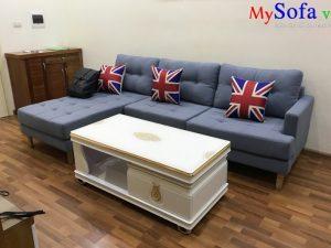 ghế sofa góc đẹp kê phòng khách