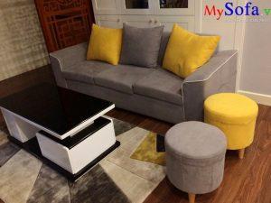 bàn ghế sofa phòng khách nhỏ tại bắc ninh