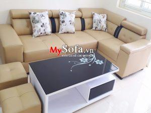 Sofa da góc bộ đẹp