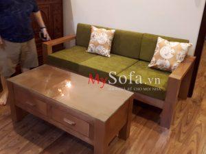 bàn ghế sofa gỗ tại bắc ninh