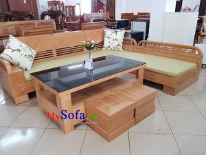 sofa go soi ke phong khach sfg014