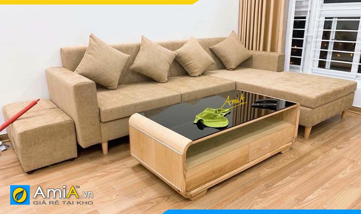 Sofa góc đẹp nhà ống nhà phố