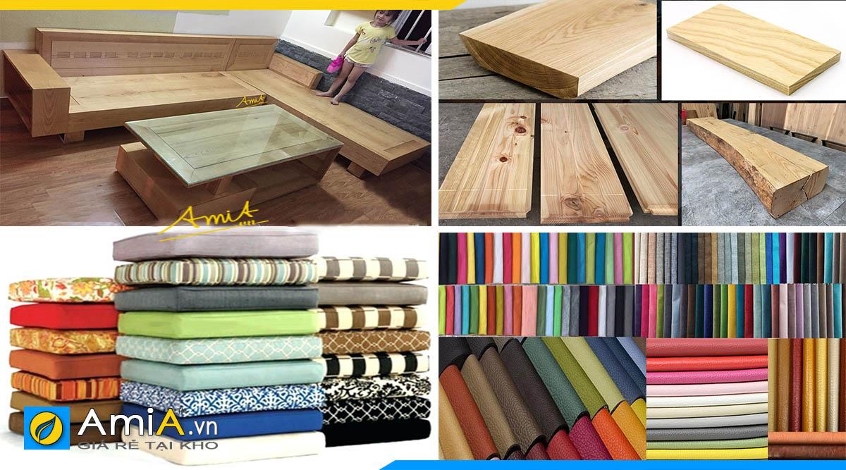 ưu nhược điểm sofa góc gỗ