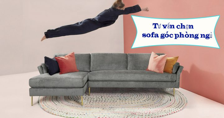 sofa góc cho phòng ngủ